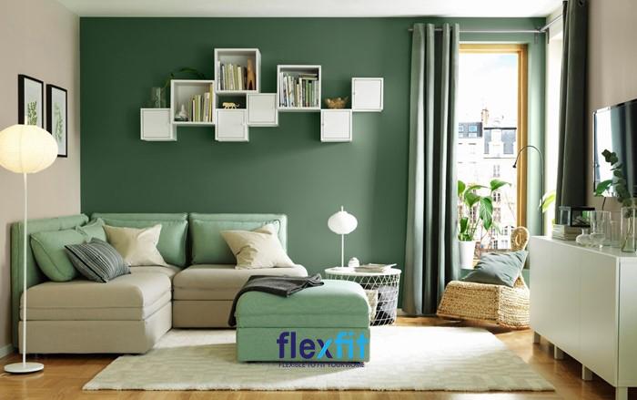 Mệnh Mộc phù hợp với màu sắc xanh lá, xanh biển nhạt và màu gỗ.