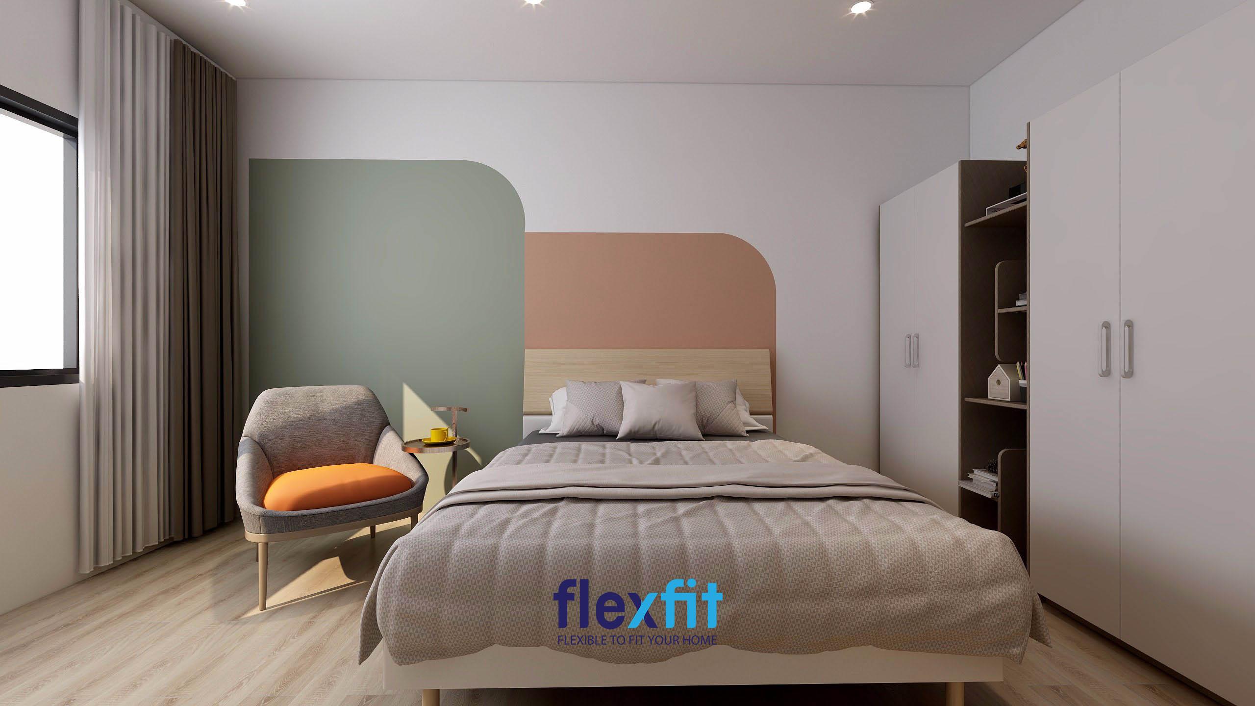 Hướng giường ngủ có ý nghĩa quan trọng trong bố trí nội thất hợp phong thủy.