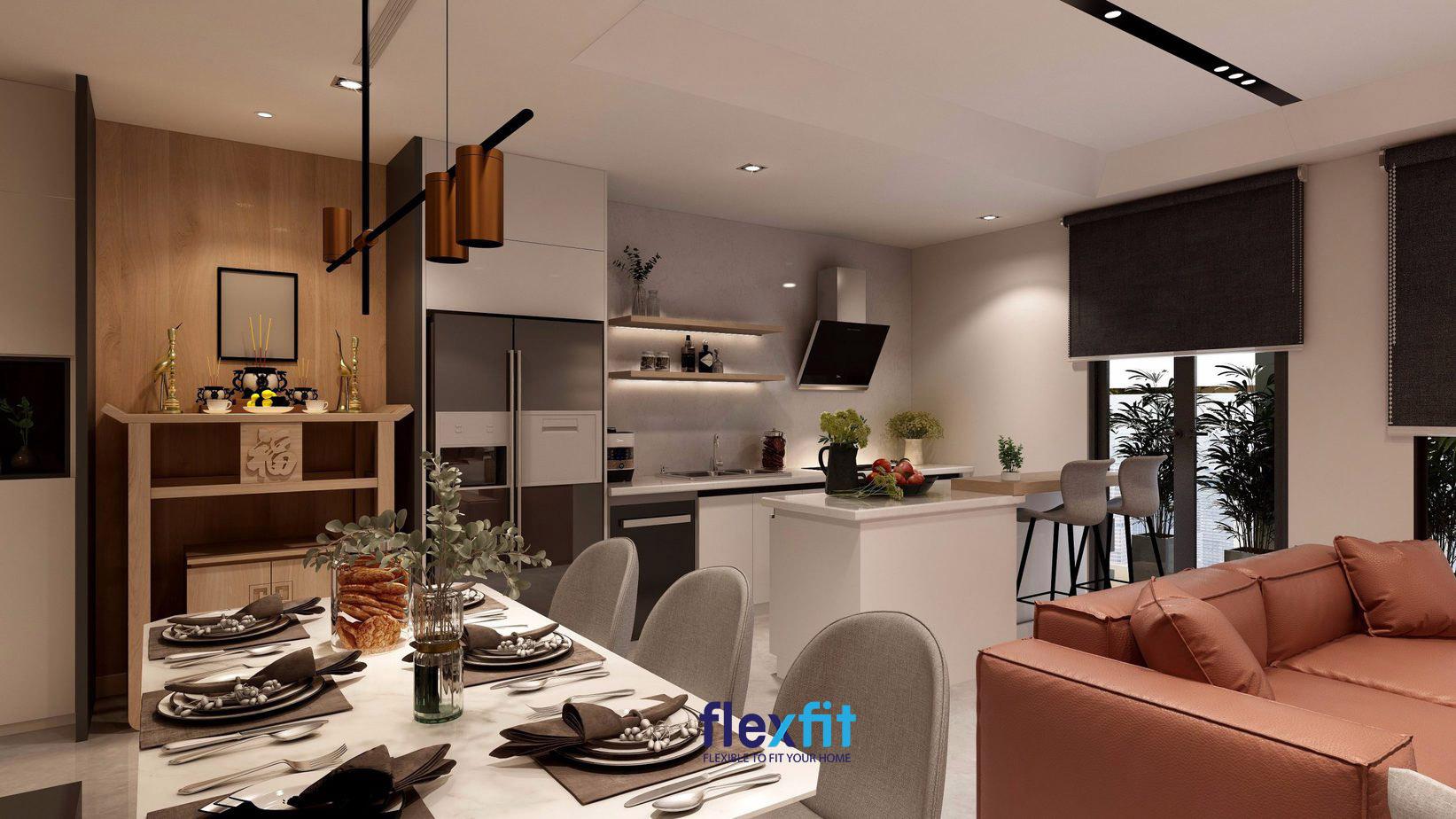 Xây dựng 2 nhà bếp trong một căn nhà hoàn toàn không sao.
