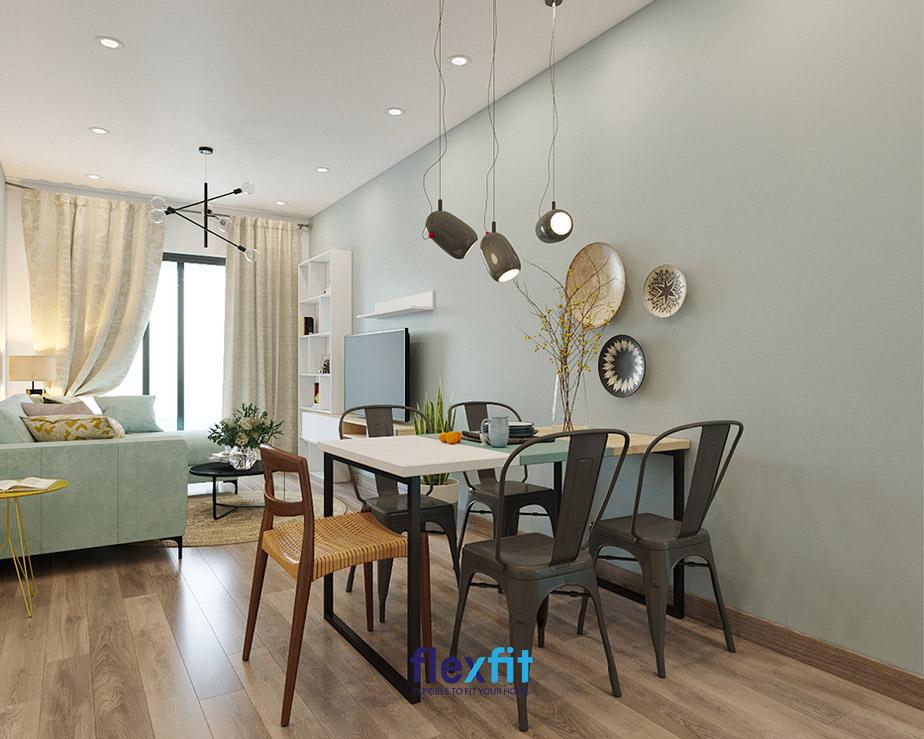 Không gian bếp mới lạ trong dự án Emerald Celadon City Tân Phú của chủ nhà mệnh Hỏa.
