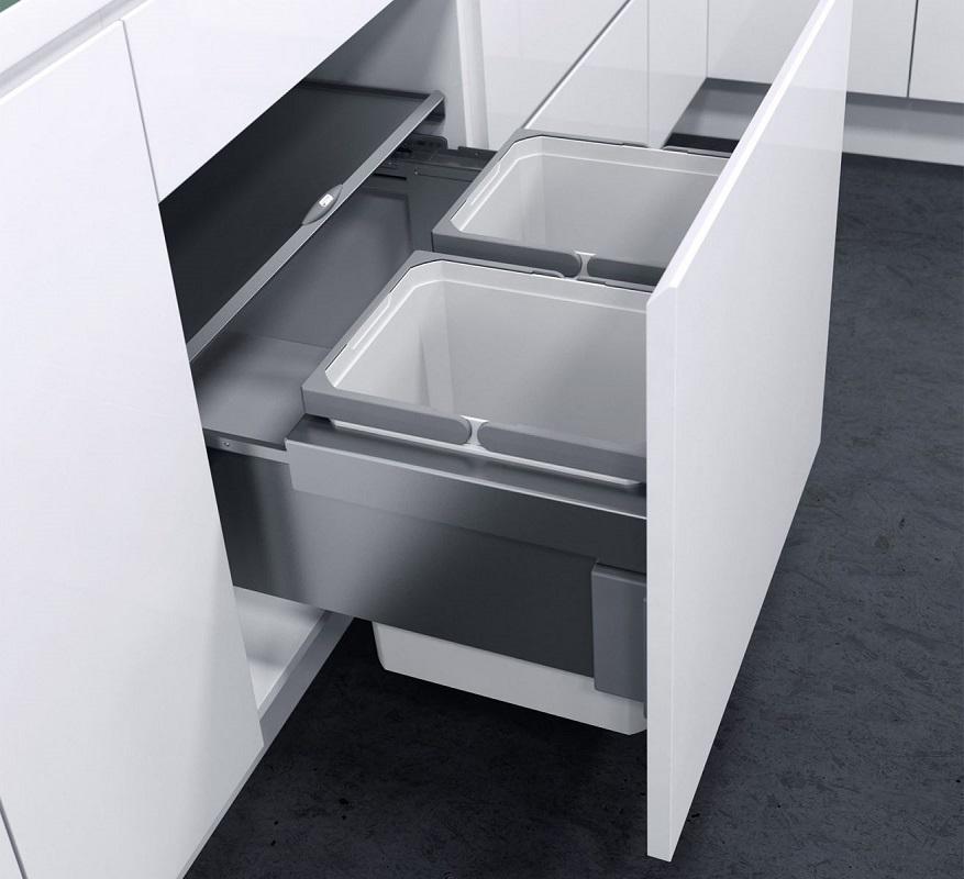Thùng rác âm tủ đang được nhiều người yêu thích