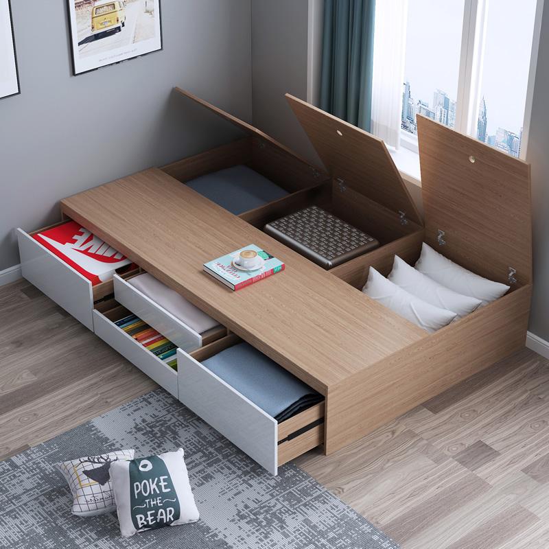 Mẫu giường 1m6 có ngăn kéo tiện dụng