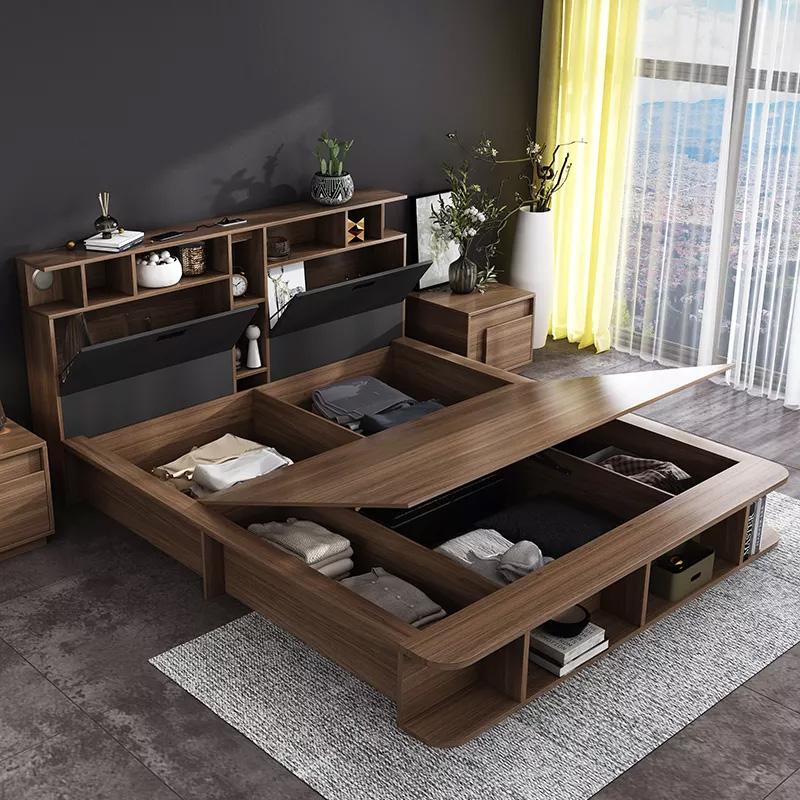 Giường có ngăn kéo kiểu Nhật được nhiều người lựa chọn
