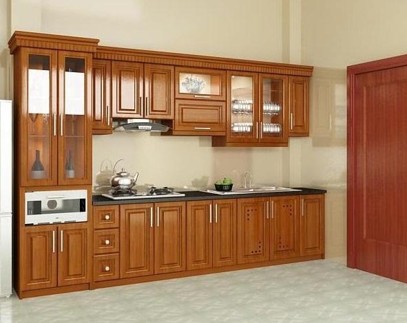 Với những không gian có diện tích hạn chế, lựa chọn tủ bếp chữ I sẽ giúp bạn tối ưu hoá không gian một cách hiệu quả.